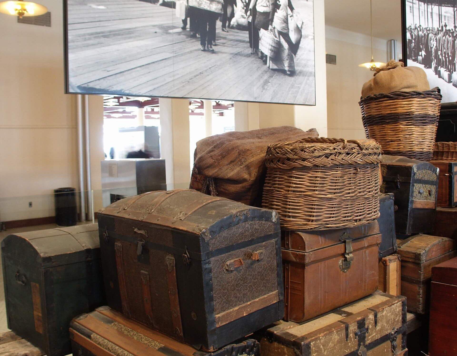 Ellis Baggage room